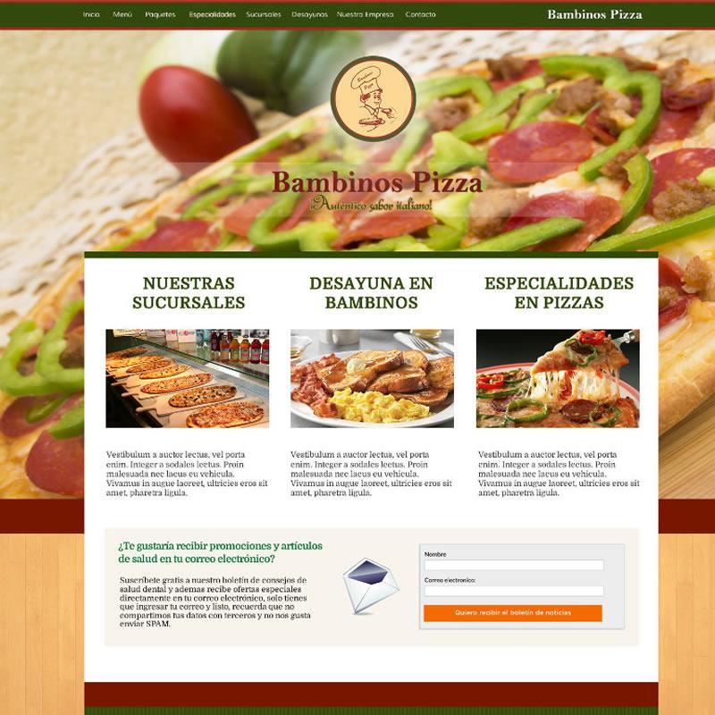Bambinos Pizza #1